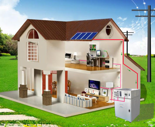 component of home solar system 1
