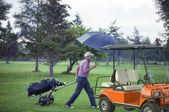 golf cart not running after getting wet 4