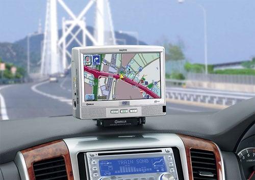 1-GPS in the car